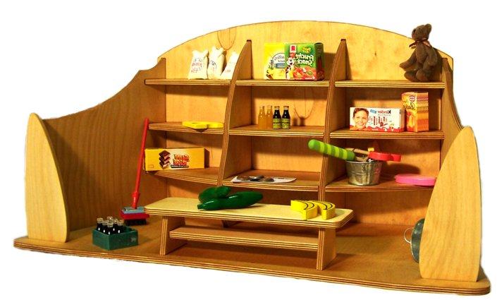 kinderkaufladen aus holz. Black Bedroom Furniture Sets. Home Design Ideas